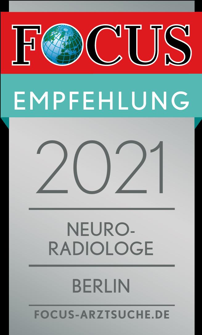 FOCUS Empfehlung 2021 Neuroradiologe-Berlin
